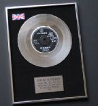 GERRY AND THE PACEMAKERS - How Do You Do It? PLATINUM Single Presentation Disc